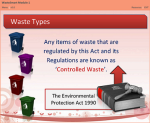 Waste Smart Certificate Online Course