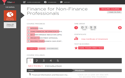 APMG-International Finance for Non Financial Managers™ | eLearning