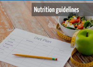Nutrition Guideliness Online Course