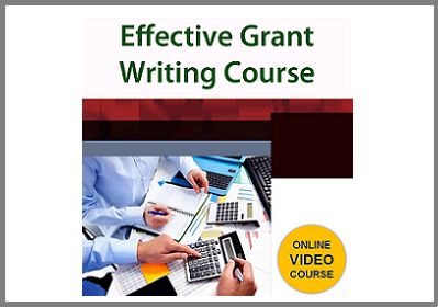 Grant writing online training