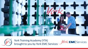 Ensuring the Continued Compliance of Products with the EMC Directive training