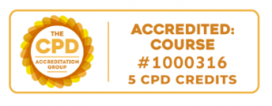 Accredited Course - 5 CPD Credits