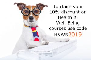 Health & Wellbeing course discount