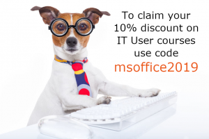 Claim your 10% online course discount Jan 19