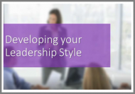 Developing your own Leadership Style Online Course