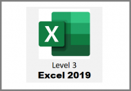 Excel 2019 - Level 3 - Online Course