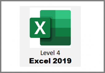 Excel 2019 - Level 4 - Online Course