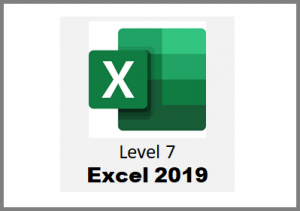 Excel 2019 - Level 7 - Online Course