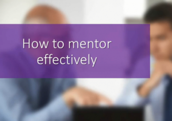 How to mentor effectively online course