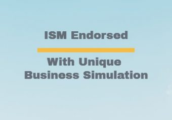 ISM Endorsed with unique business simulation
