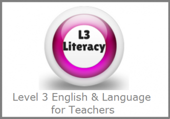 Level 3 Literacy & Language for Teachers