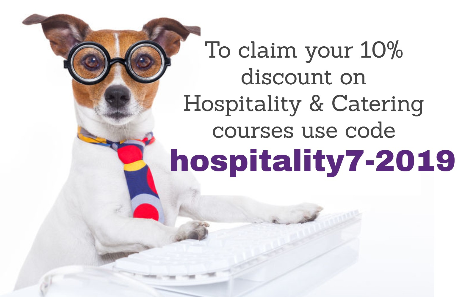 Hospitality online course discount