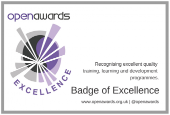 Open Awards Badge of Excellence