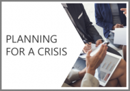 Planning for a Crisis Online Course