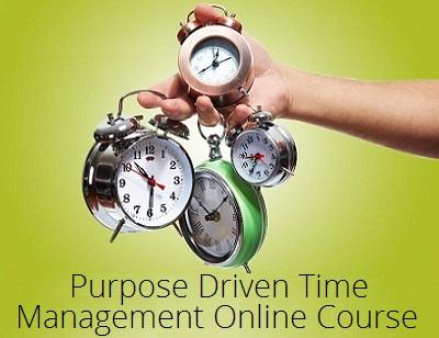 Purpose Driven Time Management Online Course