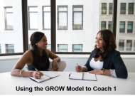 Using the GROW Model to Coach 1 Online Course