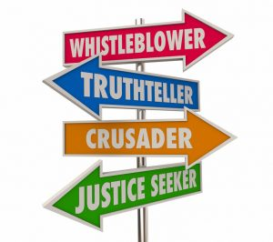 Whistleblower in health and social care