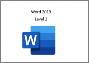 Word 2019 Level 2 Online Course