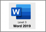 Word 2019 - Level 3 - Online Course