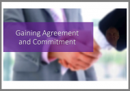 gaining agreement and commitment online course