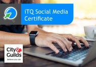 Social Media Certificate (iTQ) City and Guilds
