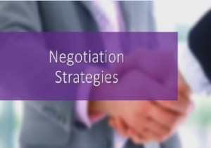 negotiation strategies online course
