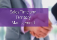 sales time and territory management online course